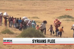 100,000 Syrian refugees flood into Turkey as IS attacks