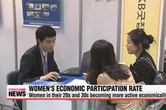 Women's economic participation rate surges