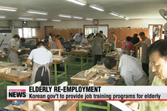 Korean gov't lays out measures to support job search of elderly