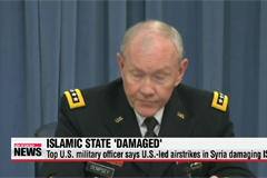 Top U.S. military officer says U.S.-led airstrikes in Syria damaging Islamic State