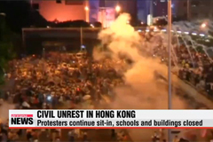 Hong Kong protests continues for universal suffrage