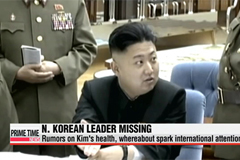 Missing N. Korean leader Kim Jong-un