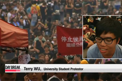 Record crowd expected in Hong Kong's pro-democracy protests today