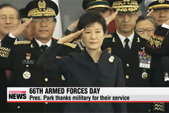 Korea commemorates 66th Armed Forces Day