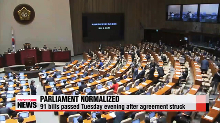 Parliament normalizes after ferry bill agreement