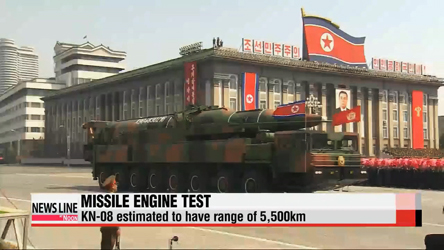 Pyongyang conducts new engine test for KN-08 ICBM: 38 North