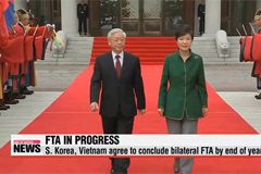 Korea, Vietnam agree to conclude bilateral FTA by end of year
