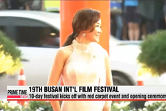 Live link-up for opening ceremony of 19th Busan Int'l Film Festival