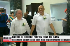 Catholic Church shifts tone on gays, lesbians