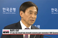Korea's central bank cuts key rate to 2% in October
