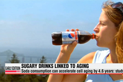 Soda consumption leads to premature aging: study