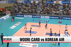Sunday's V-League action