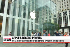 Apple's profits soar on strong iPhone, iMac sales
