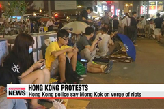 Hong Kong officials hold talks with pro-democracy protesters