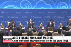 APEC finance ministers meet in Beijing