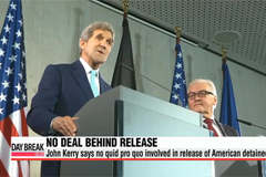 Kerry says no deal made with North Korea in release of American
