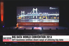 Big Data World Convention 2014