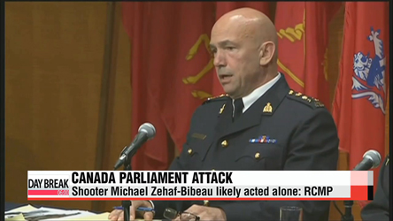 Canadian parliament shooter likely acted alone: RCMP
