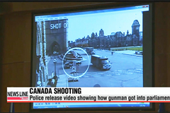Canada releases surveillance video of shooting