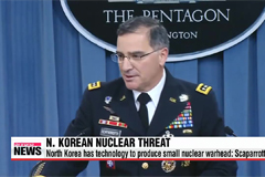 North Korea capable of making miniaturized nuclear warhead: Scaparrotti