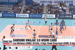 V-League: KGC vs. GS Caltex, Samsung vs. Woori Card