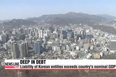Korea's high debt threatens consumption and investment