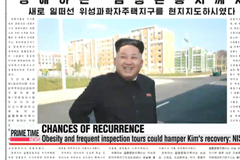 Kim Jong-un had cyst removed during 40-day absence: spy agency