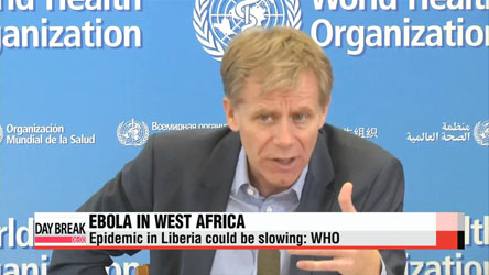Ebola epidemic in Liberia could be slowing: WHO