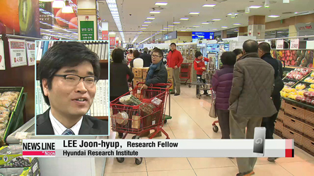 Lower growth, deflation woes mount for Korean economy