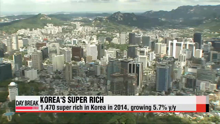 Number of super rich in Korea grows this year