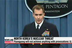 U.S. says North Korea will not achieve anything with threats, provocations