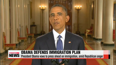 U.S. President Obama to press ahead on immigration