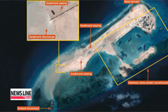U.S. says China is building ocean airfield in disputed waters