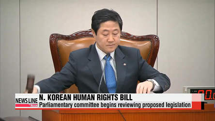 Parliamentary committee starts review of North Korean human rights bill