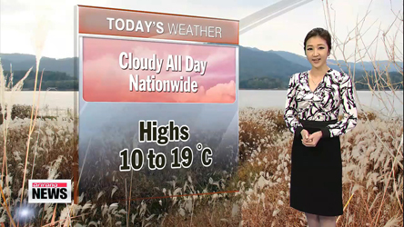 Rain forecast nationwide except in Seoul