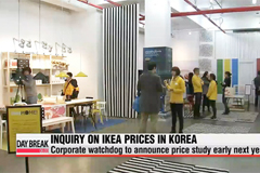 Korea's corporate watchdog to study IKEA prices in Korea
