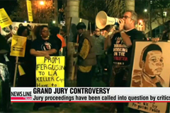 Protesters say Ferguson jury's decision was full of holes