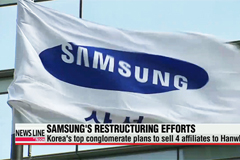 Samsung plans to sell 4 affiliates to Hanwha