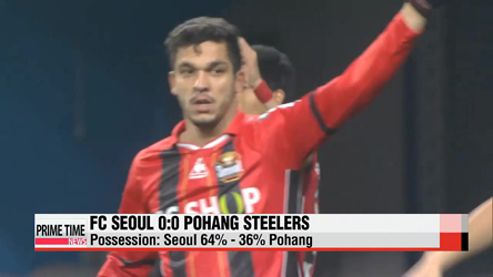 K-League: Seoul vs. Pohang, Incheon vs. Seongnam
