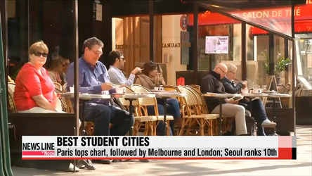 Paris tops chart of best student-friendly cities; Seoul ranks 10th