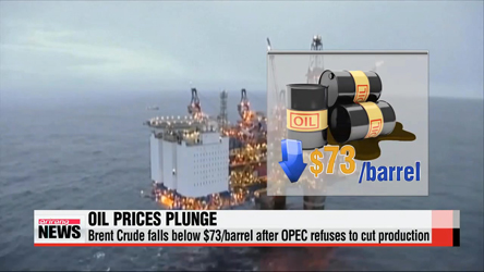 OPEC refuses to cut production, oil prices slump