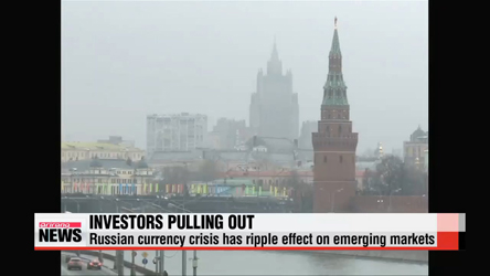 Bond investors worry over Russian crisis on emerging markets