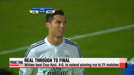 Real Madrid cruises to FIFA Club World Cup finals