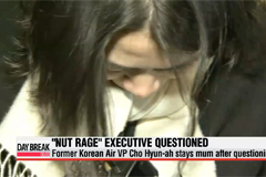 Under-fire former Korean Air executive stays mum after questioning