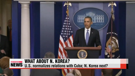 With U.S.- Cuba relations restored, is N. Korea next?