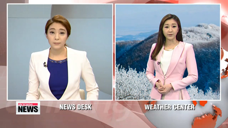 Freezing cold temperatures slam Korea