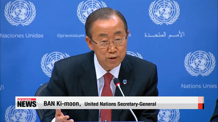 UN chief raises hopes on Syria, Ebola crises