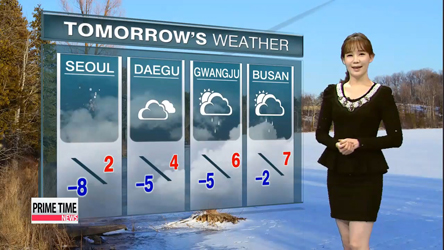 Snow and showers expected nationwide on Friday