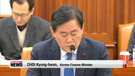 Korea's finance minister pledges structural reforms next year