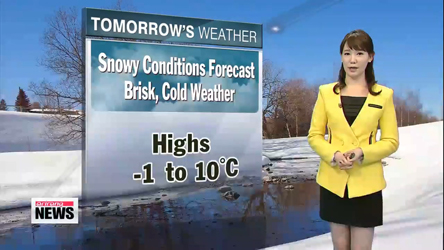 Snow and showers expected over weekend